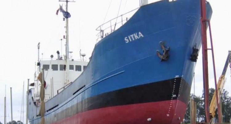 Mv Sitka Crews Leave Kabariki Village