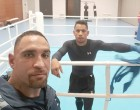 Boxing Coach Remains Positive