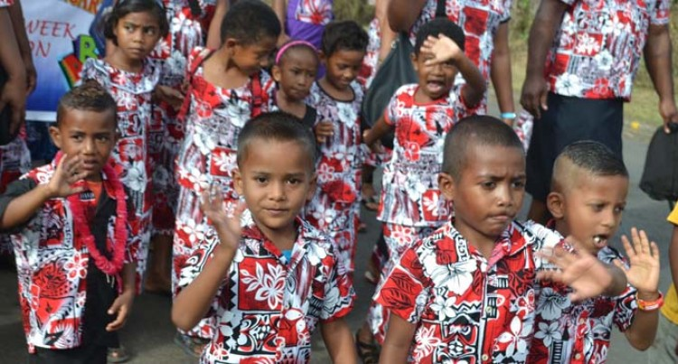 500+ Toddlers Celebrates  Pre-School Week In Labasa
