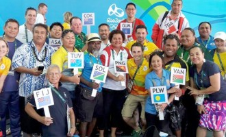 Pacific Advance Party Leaves Rio