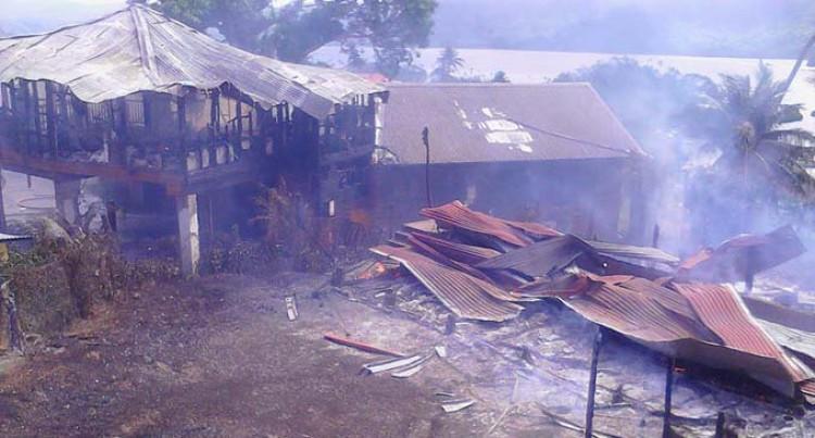 House Razed in Savusavu