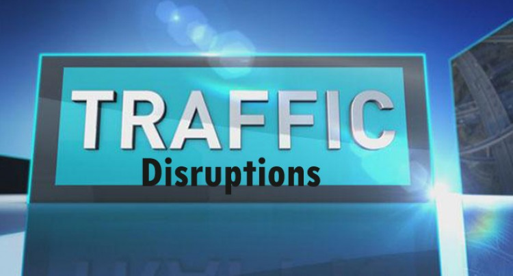 Traffic Disruptions Along Laucala Bay Area