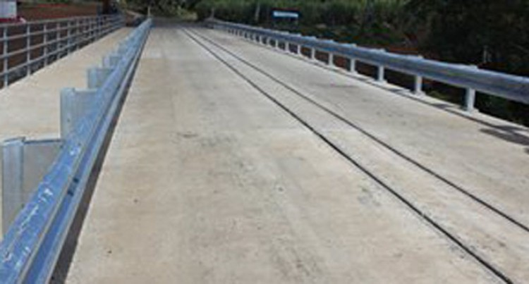 New Cogeloa Bridge  Completed Months Ahead Of Schedule