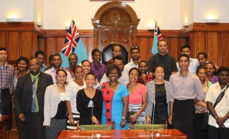 Fulton College Visits Parliament For The First Time