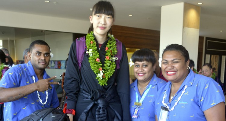 WOMEN BASKETBALL Chinese U18  Face Fijian Selection