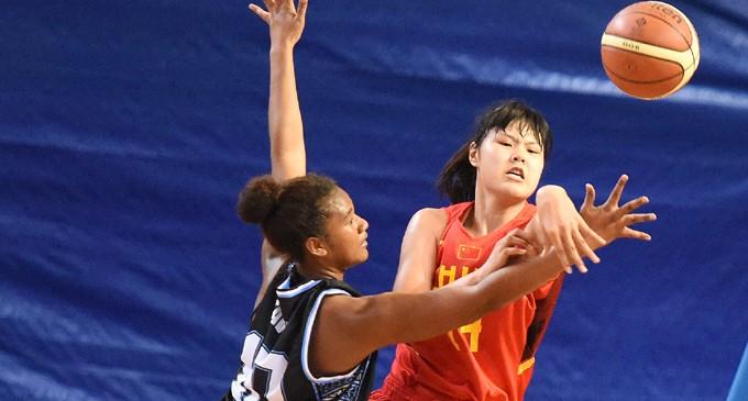 Chinese U18 Score Big Win