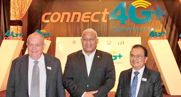 Telecom Fiji Launches Connect 4G Plus Service