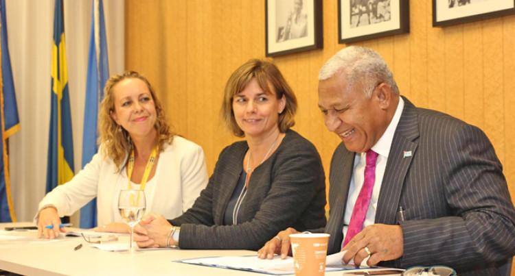 Bainimarama Warns Against Polluting Ocean Resources
