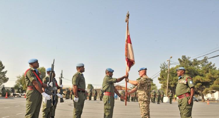Lt Col Ravunakava Takes Over Fijian  Batt Command