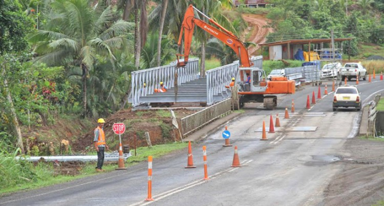 Vugalei Bailey  Bridge Installed