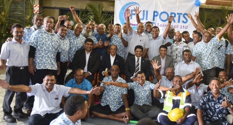 $283,000 bonus for Ports Terminal staff