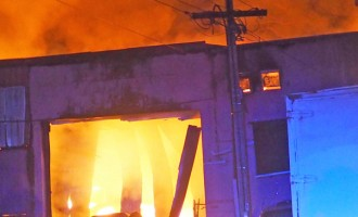 Factory Fire Destroys Everything