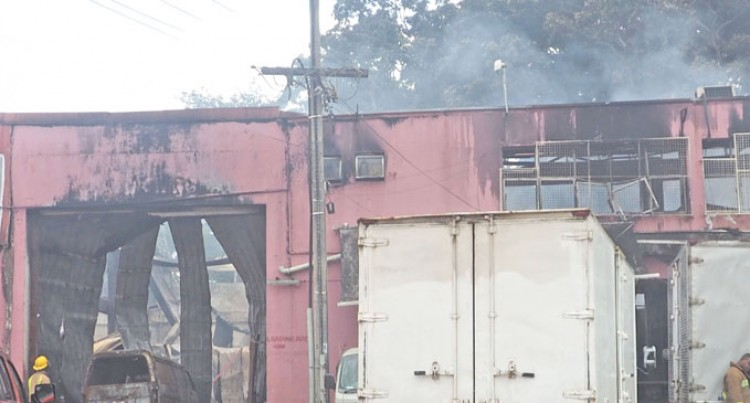 60 Staff Lose Jobs  After Factory Fire