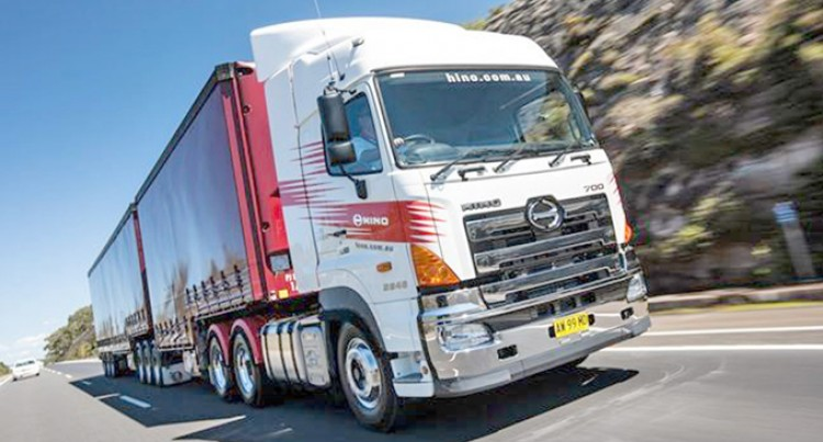 Hino 700 Series: Prime Mover And Heavy Duty Trucks