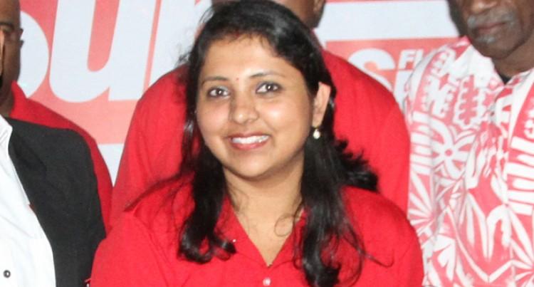Jyoti Chand Grows With Fiji Sun