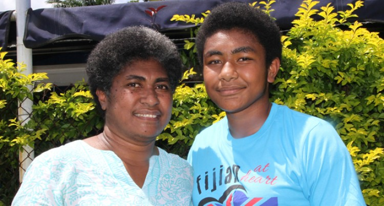 Waqa, 14, All Set