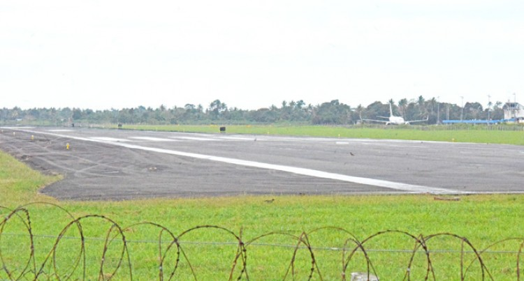 Airport Runway Still Unsuitable For B737 Operations