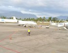 Five Private Jets Land at Nadi Airport in One Hour