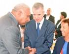 French Senators  Honoured By  President Konrote