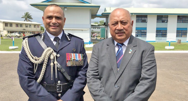 Keep Goals Of Fallen Comrades Alive, Ratu Inoke Tells Officers