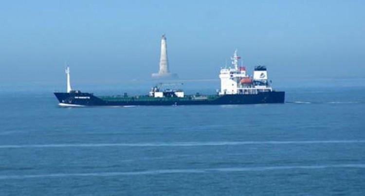 Tanker Loads Bulk Fuel