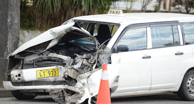 Man In Hospital After Road Accident