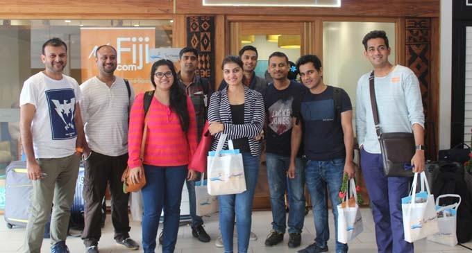 Tour Managers, Fiji Airways, Tourism Fiji Partner To Market Activities For India