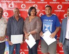 Three Win $10,000 Each With Vodafone Fiji Lottery