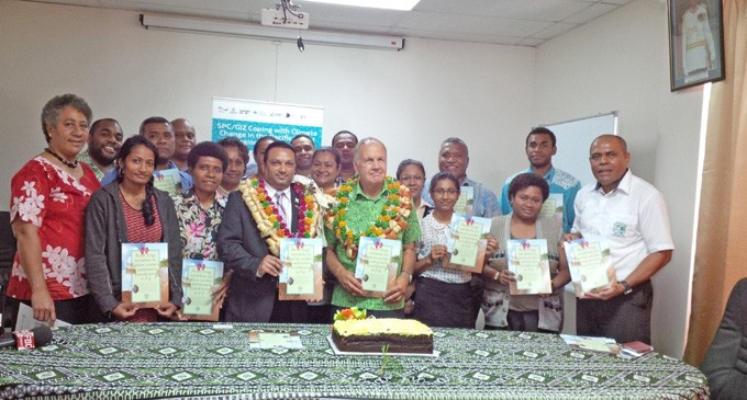 Resilient Crop Varieties Booklet Launched