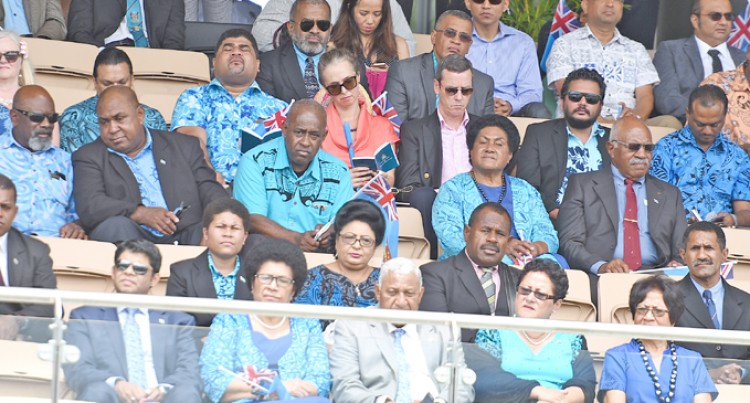 Rabuka Slams Those  Who Boycotted Event