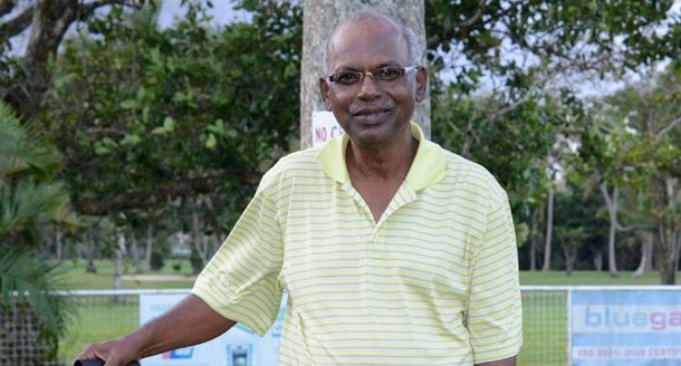 Senior Golfer Nair Ends 10-year Drought