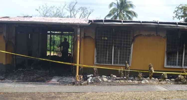 Nurse Grieves Over Burnt Home