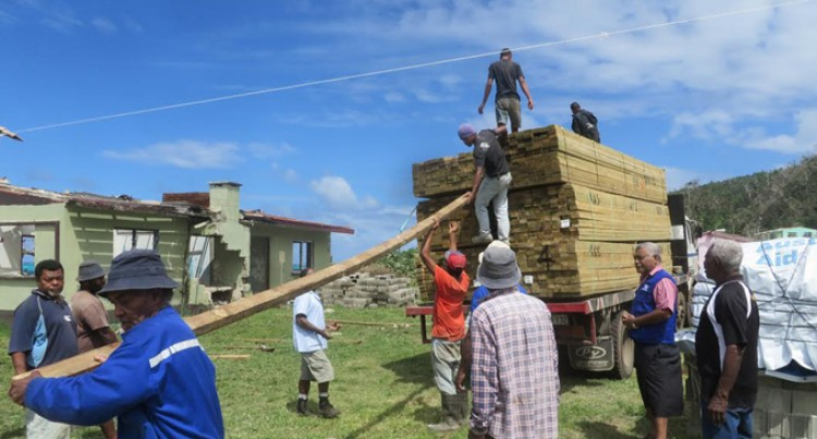 Koro Families Receive Building Materials