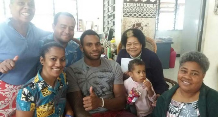 Rugby Star Brings Joy To Orphans
