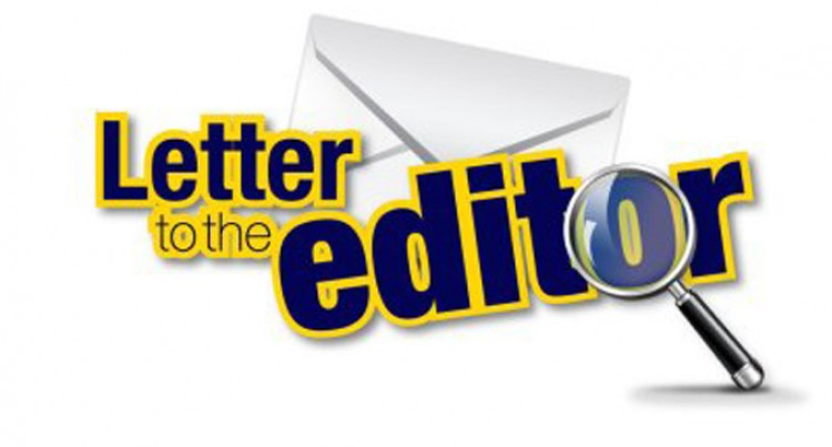 Letters To The Editor, 30th, September, 2016