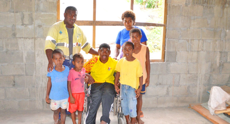 Family Builds New Home Through Govt's Assistance