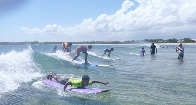 Youth Empowerment Through Surfing