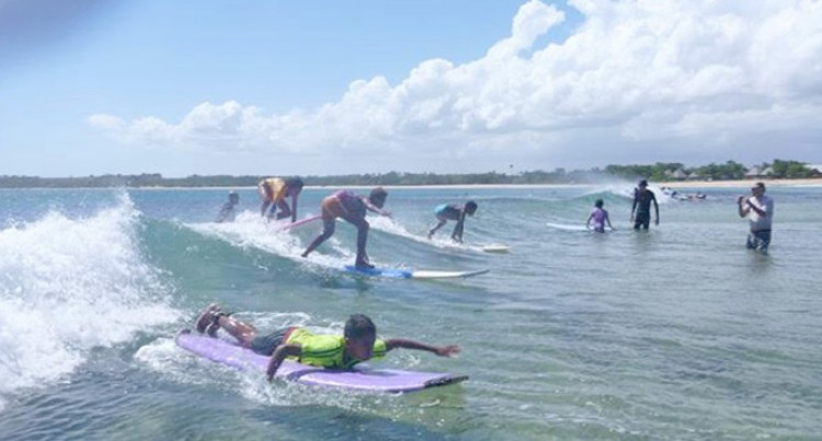 Girls Urged To Take Up Surfing