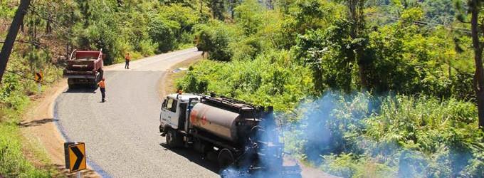 Resealing Buca Bay Road