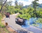 Buca Bay Road Sealing Continues