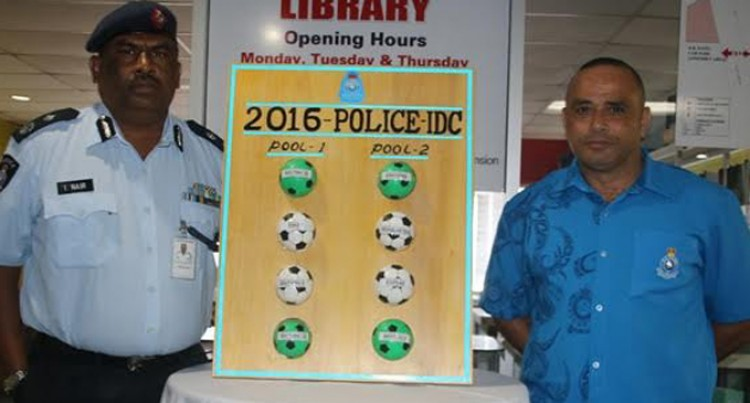 2016 Fiji Police Force Interformation Soccer Tournament Drawn