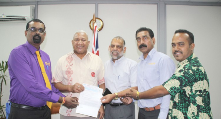 Fiji Teachers Union Contribute Towards Cyclone Appeal