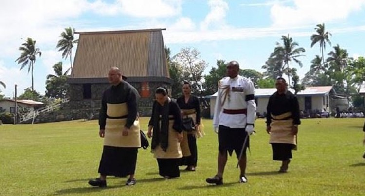 Nauru's President Presents Reguregu To Late Ratu Joni Madraiwiwi