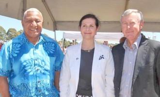 Bainimarama Hails Aust For Support