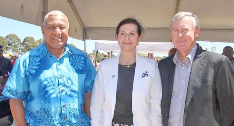 Bainimarama Hails Aust For Support