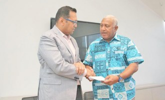 Prime Minister's Relief Fund Helped By Fijian Business In Australia