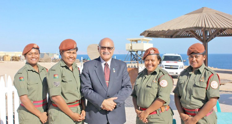 President Konrote Praises Our Sinai Peacekeepers