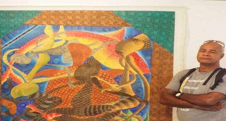 Bakalevu To  Exhibit Artwork In Fiji Museum
