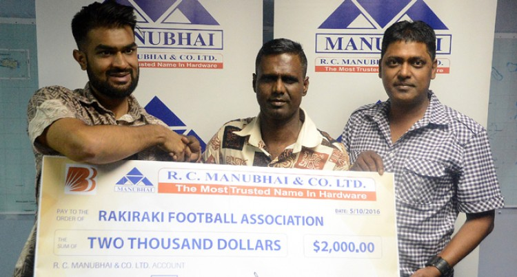 Hardware Company Helps Rakiraki Football