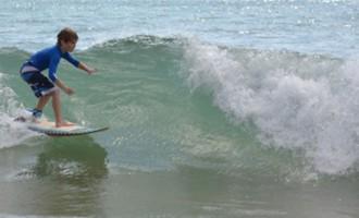 Girls Go Surfing